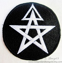 First Degree Wicca Embroidered Patch