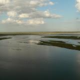 Le Gange, juste avant la confluence avec le Yamuna