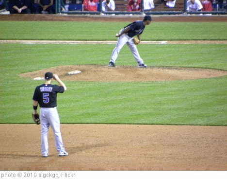'David Wright with Jenrry Mejia Pitching' photo (c) 2010, slgckgc - license: https://creativecommons.org/licenses/by/2.0/