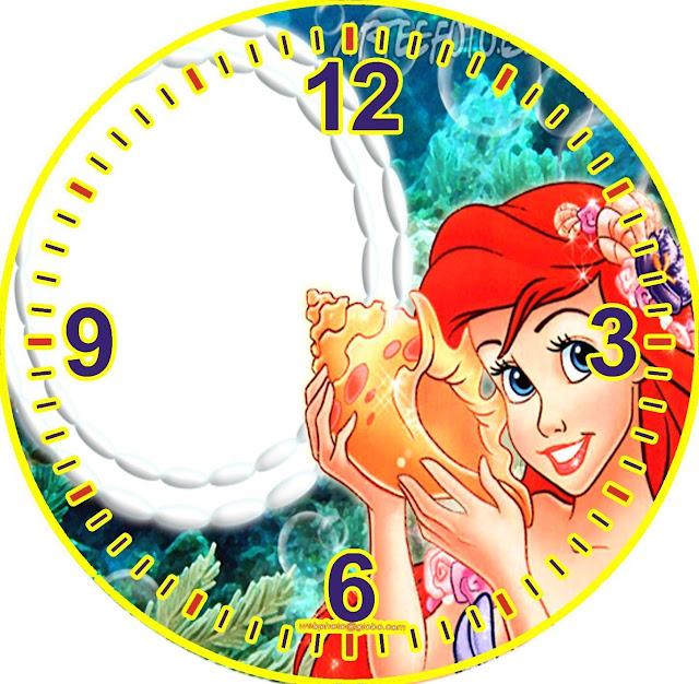 Relojes disney para la pared - Reloj pintado en la pared ...