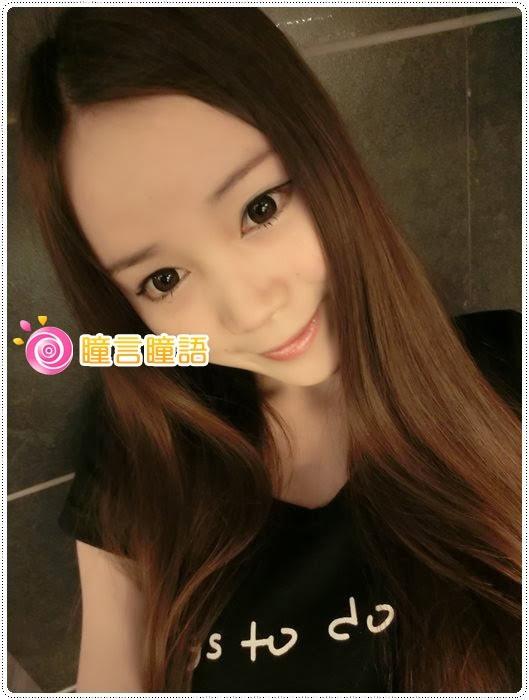 日本KRIAKRIA隱形眼鏡-Sweety Eye 糖果巧克力CIMG1713