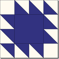 K-7 Winged Square