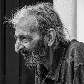 THINKER by Hugo Lourenço - People Portraits of Men