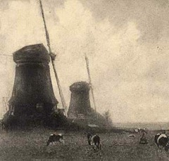 ROBERT DEMACHY - Windmills - 1913