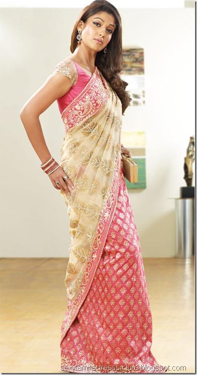 nayanthara-sexy-pic-in-saree
