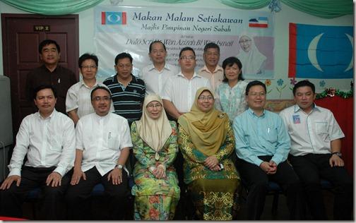 Sabah PKR new line up