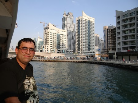 Plecarea din Dubai Marina
