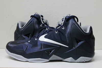 nike lebron 11 pe akron zips 2 02 Closer Look at Nike LeBron 11 Akron Zips PE