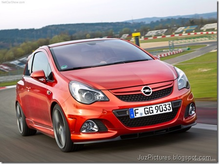 Opel Corsa OPC Nurburgring Edition 4