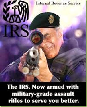 irs armed and dangerous