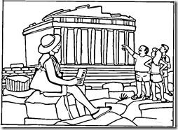 grecias panteon jugarycolorear (1)