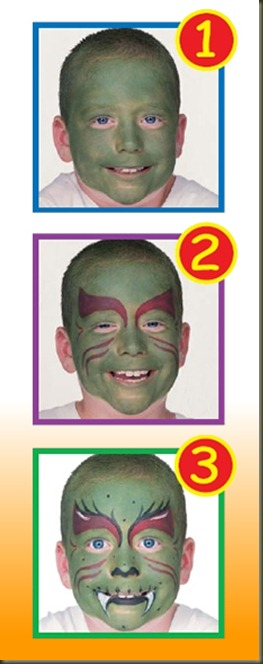 Maquillaje-Monstruo-Verde