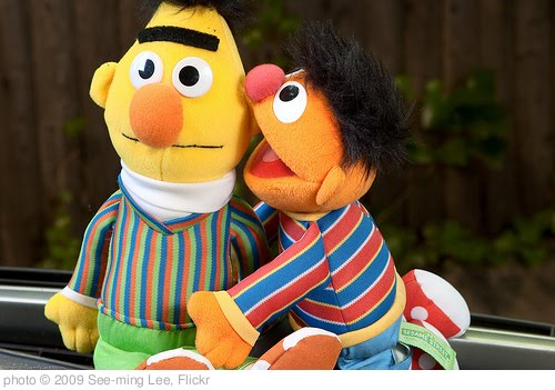 'Bert and Ernie: Let me tell you a secret / 20090917.10D.53994.P1 / SML' photo (c) 2009, See-ming Lee - license: http://creativecommons.org/licenses/by-sa/2.0/