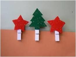 manualidades  navidad con pinzas de ropa (5)