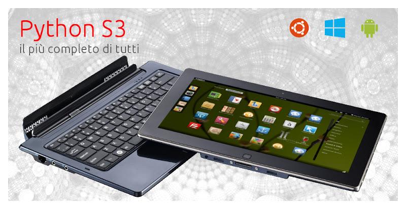 Ekoore Python S3 il nuovo tablet pc X86 con Ubuntu ...