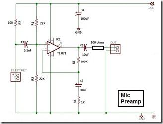 highgain preamp-TL071