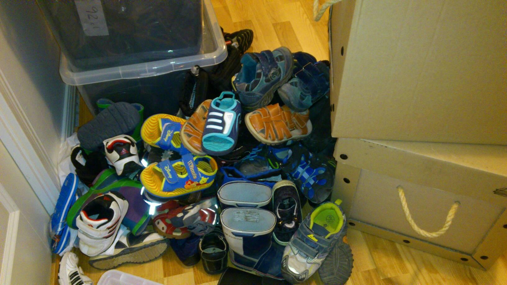 En annan blog Många skor blir det