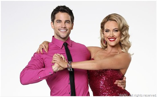 Brant Daugherty and Peta Murgatroyd.
