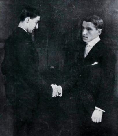 1914-06-23 La lidia Encuentro de Jose y Juan