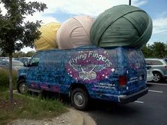 Flying Fingers Van