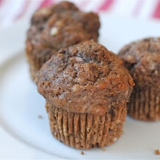 Chocolate Greek Yogurt Muffins