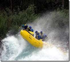 rafting outbound