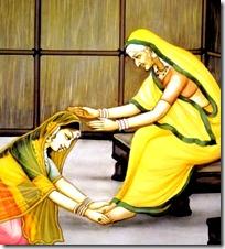 Anasuya meeting Sita