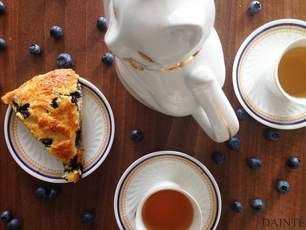 Blueberry Brie Scones Recipe