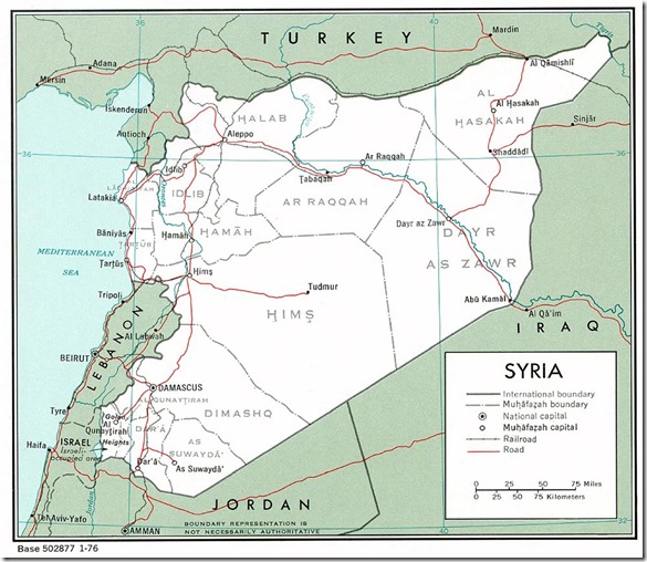 Syria_Political_Governorates_Map_1976