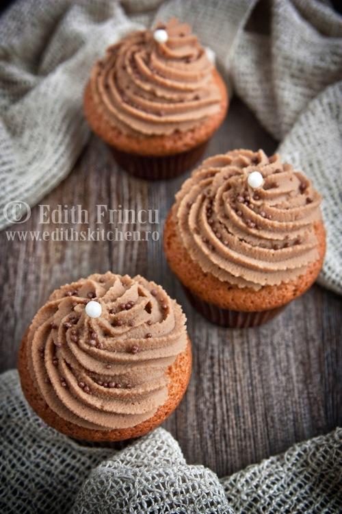 cupcakes cu cappuccino