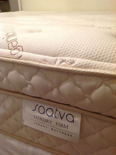 {Saatva Mattresses Feature Beautiful Stitching Along With Organic Cotton  Covers And Organic Materials.}