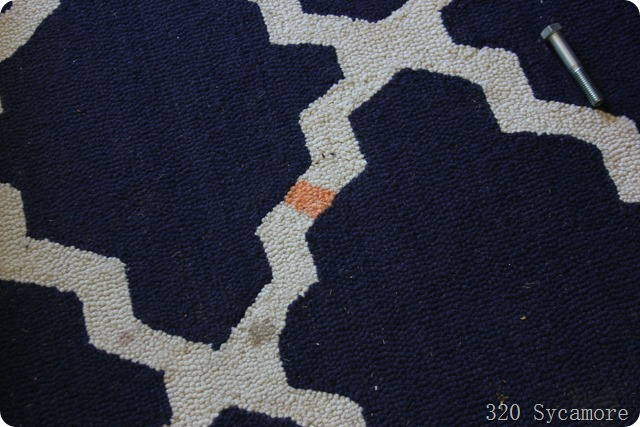 rug stain
