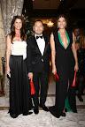 Analía Maiorana, Fabian Medina Flores y Catherine Fulop