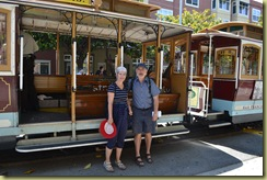 Cable car riders