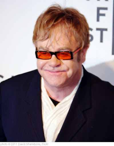 'Elton John 2011 Shankbone' photo (c) 2011, David Shankbone - license: http://creativecommons.org/licenses/by/2.0/