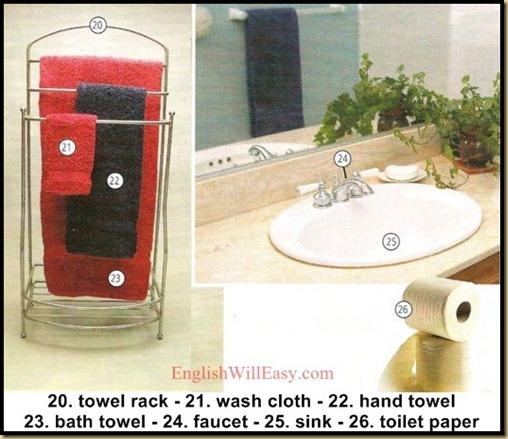 bathroom - Housing -  Photo Dictionary -4