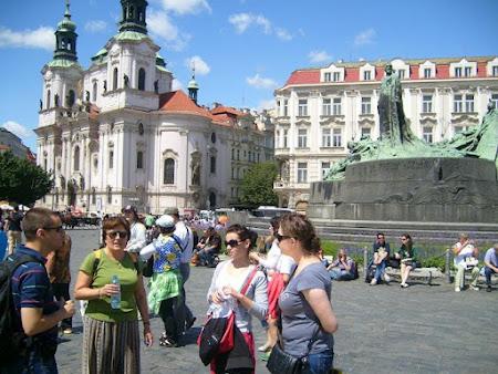Imagini Cehia: Piata Centrala Praga