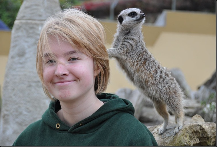 Jess with Meerkat  (resized)