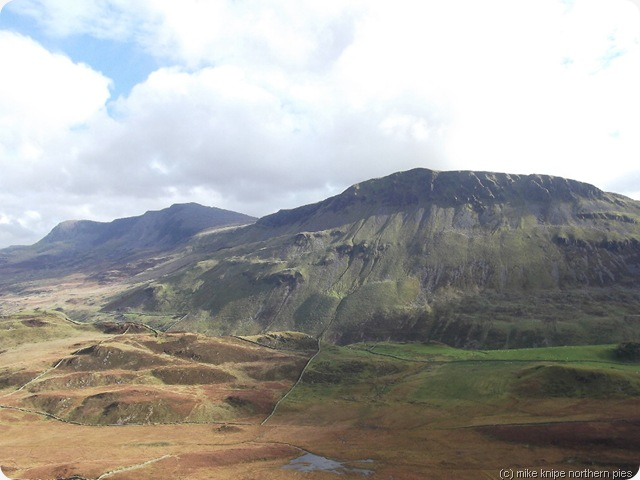 cadair idris from pared