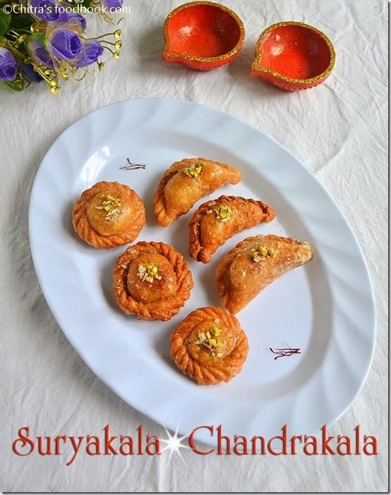 Suryakala,chandrakala sweets