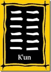 I Ching 2 K'un Hexagrama