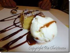 græsk is og sød kage