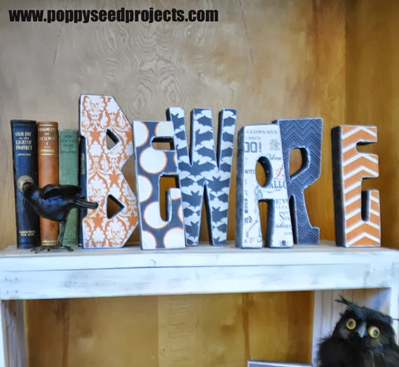 Super Saturday Chunky Wood Letters