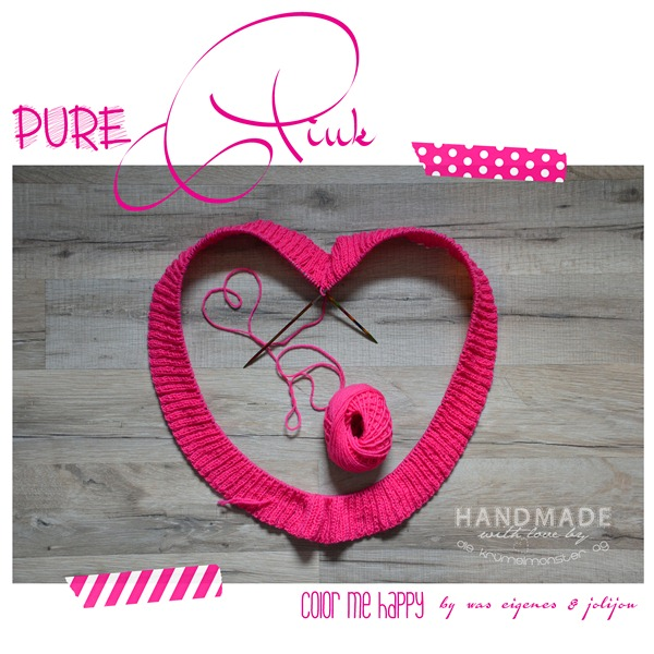 color me happy - pure pink