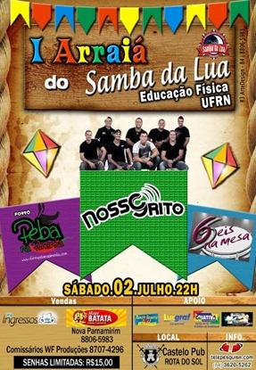 Banner Samba da lua