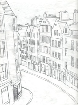 edinburgh sketch