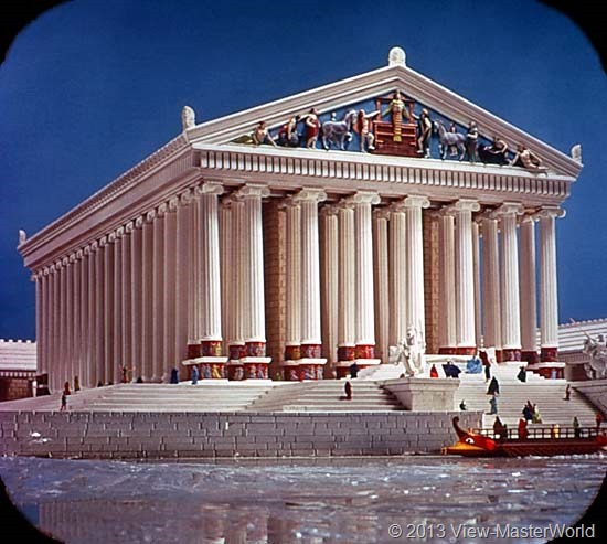 View-Master The Seven Wonders of the World (B901), Scene 5: Temple of Diana