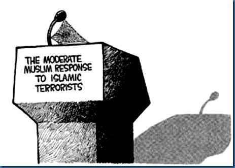 Moderate Muslim Voice Non-Existent
