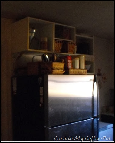 dark fridge prints and scratches