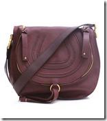 Chloe Plum Handbag